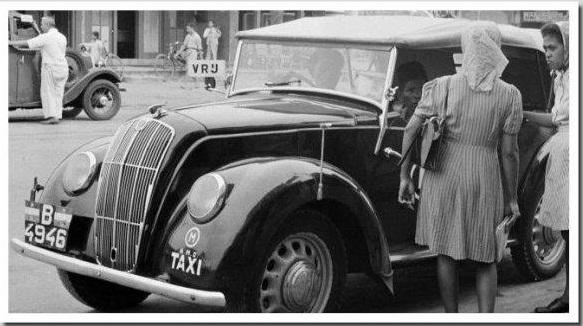 Sejarah Taksi di Indonesia