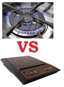kompor gas dan listrik