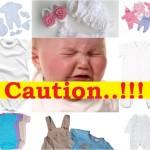 Bahaya yang Terdapat pada Baju Bayi