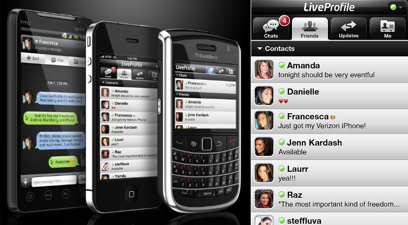 live profile