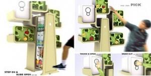lemari es rumah pohon