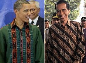 Saat Pejabat Favorit Memakai Batik