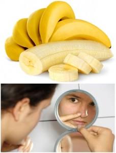 manfaat pisang untuk komedo
