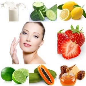 bahan alami kulit bersinar