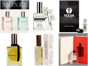 parfum dengan aroma aneh