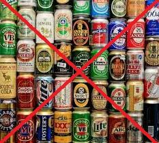larangan bir di minimarket