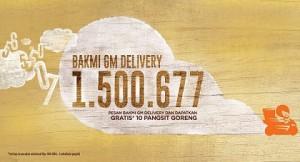 Nomor delivery service bakmi GM