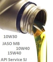 spesifikasi oli