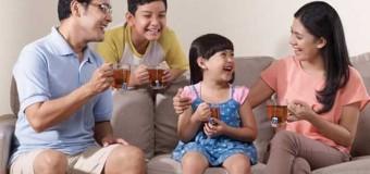 Khasiat Teh Hijau untuk Keluarga Harmonis Sangat Berguna