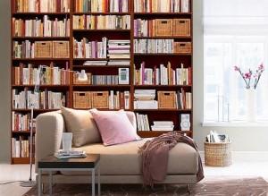 ruang baca buku