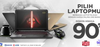 Promo Laptop Super Murah saat Harbolnas