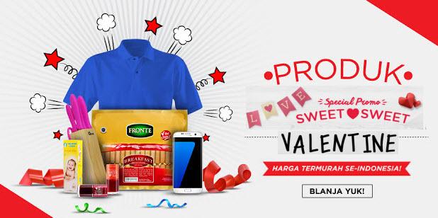 Produk Promo Valentine di Blanja