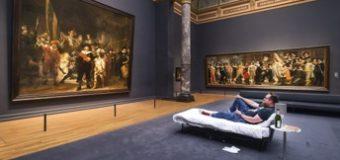 Bermalam di Rijksmuseum Amsterdam