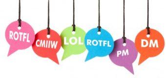Istilah Gaul Yang Sering di Gunakan Saat Chatting