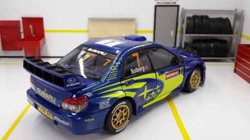 Subaru Impreza Mexico 2004