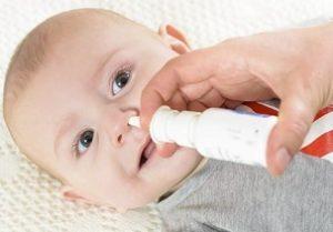 bayi dan obat semprot cair