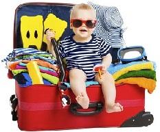 perlengakapan bayi liburan