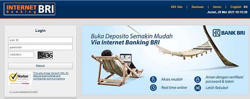 internet banking BRI