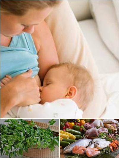 Makanan Meningkatkan Produksi ASI ( Air Susu Ibu )
