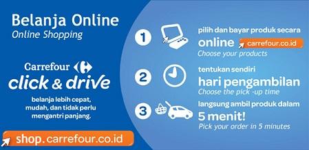 Belanja Online di Carrefour