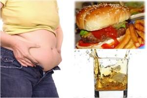 kebiasaan membuat perut buncit