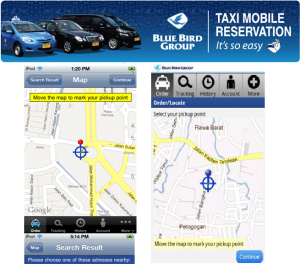taxi mobile reservation