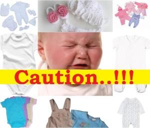 bahaya baju bayi