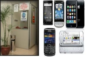 wartel dan ponsel