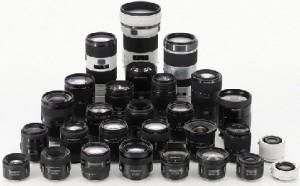Lensa Kamera SLR