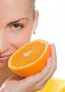 jeruk untuk wajah