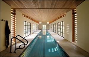 kolam renang kayu