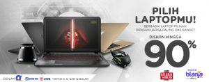 Promo Laptop Super Murah saat Harbolnas