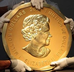 koin emas Big Maple Leaf