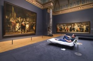 menginap di Rijksmuseum Amsterdam