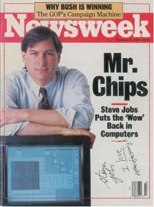 majalah newsweek steve jobs