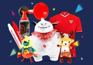 merchandise asian games 2018
