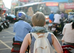nyaman backpacker