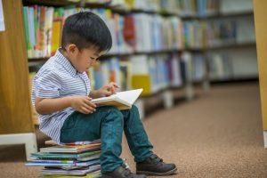 anak baca buku